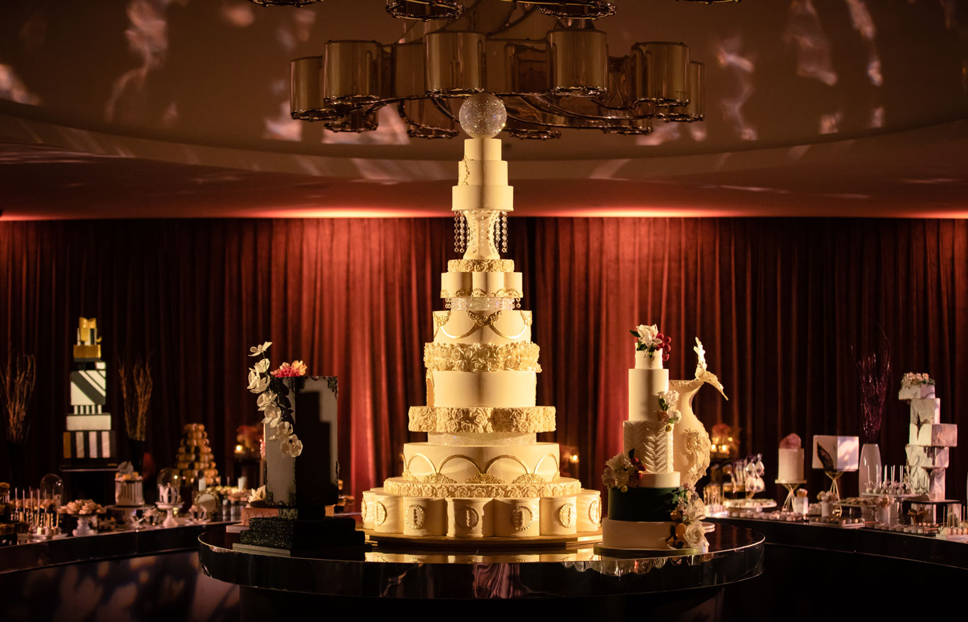 GC Couture Luxury Wedding Cake For Sarah Lindsay's wedding in Kensington and Chelsea