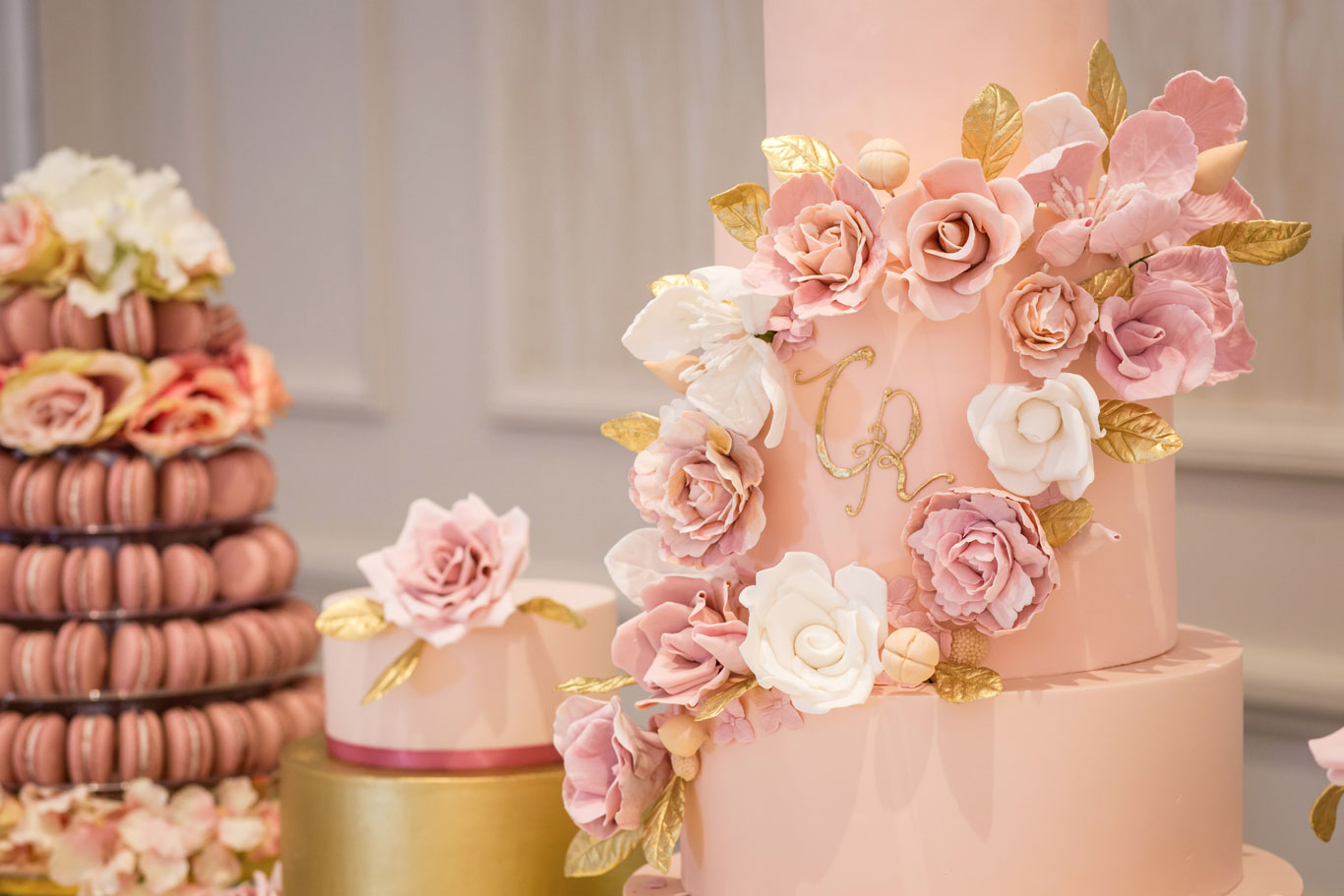 Luxury Wedding Cake by GC Couture & Gordon Ramsay Weddings