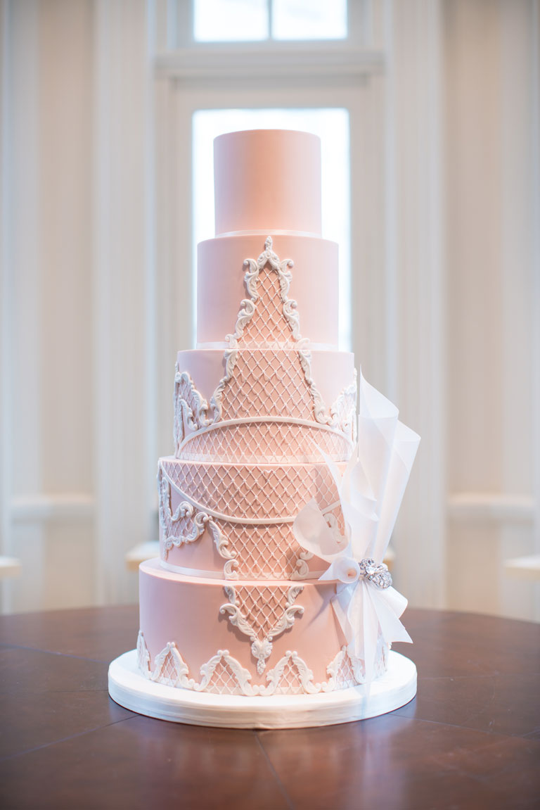 Oscar De La Renta Wedding Cake by GC Couture, Mayfair