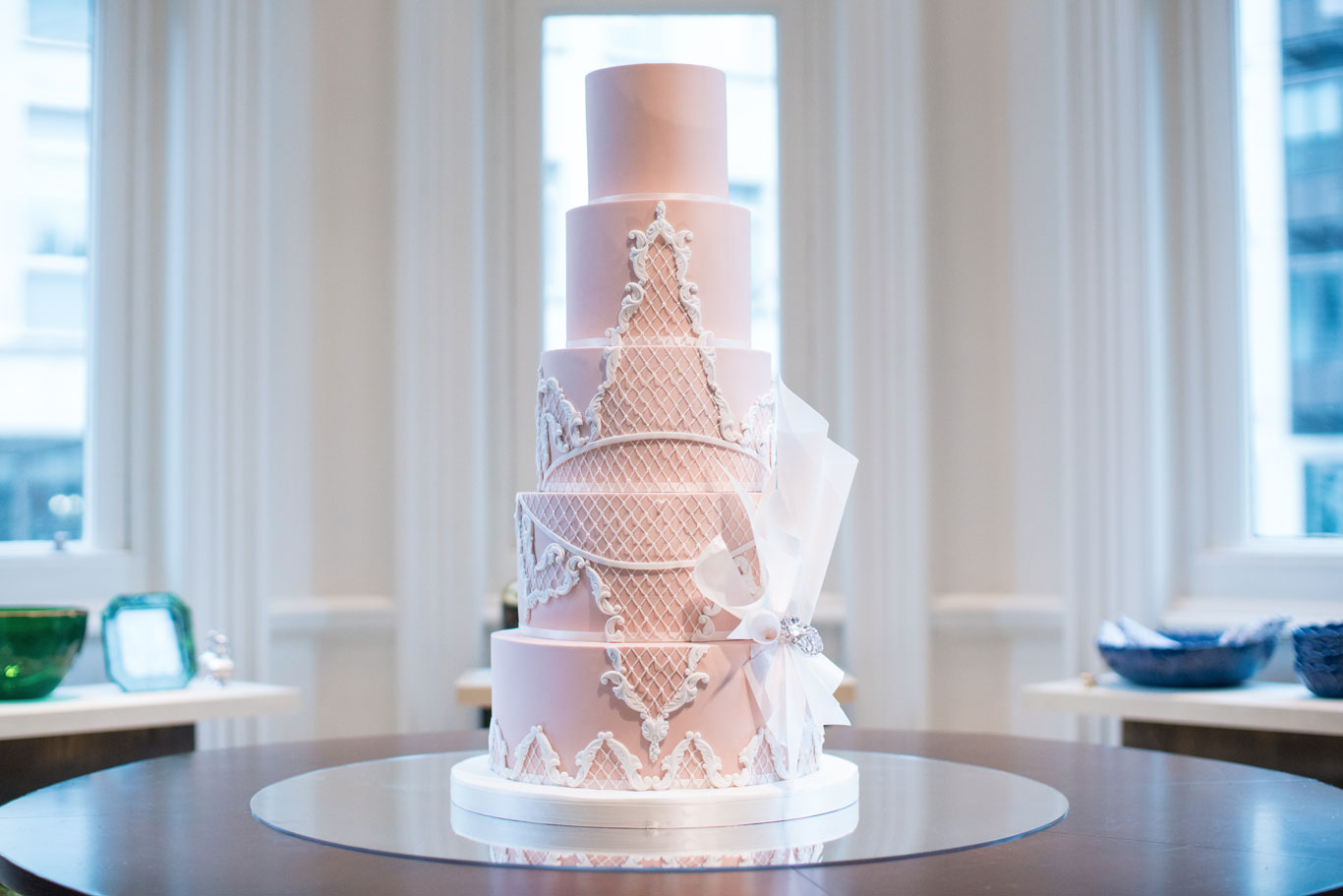 GC Couture Wedding Cake for Oscar De La Renta