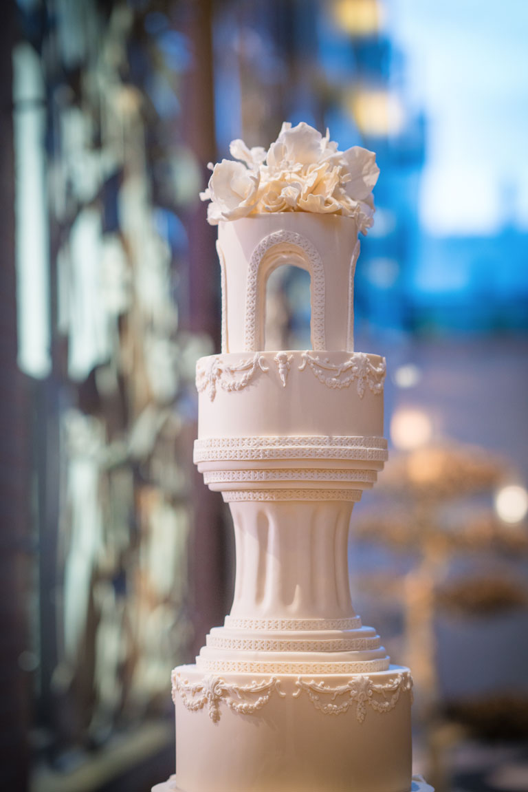 Luxury Wedding Cake Closeup at The Connaught by GC Couture, Mayfair