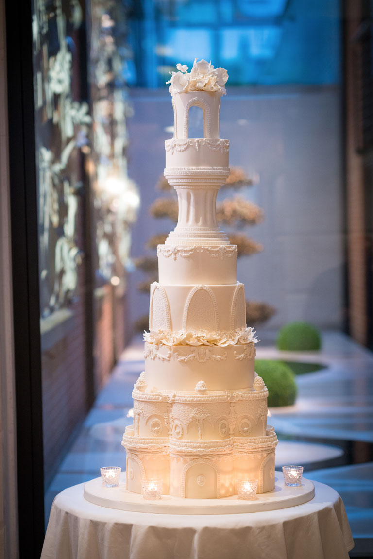 The Connaught Luxury Wedding Cake by GC Couture, Mayfair