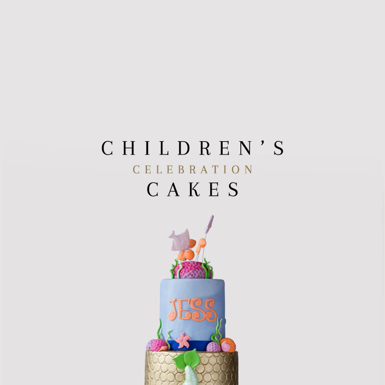 order children's celebration cakes