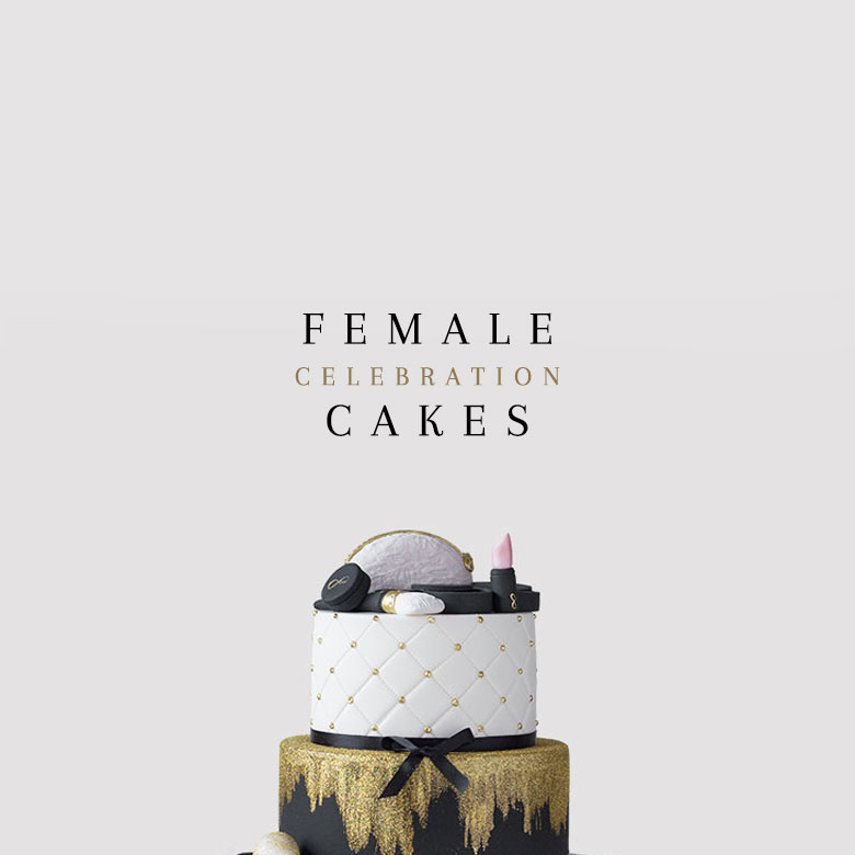 order female celebration cakes