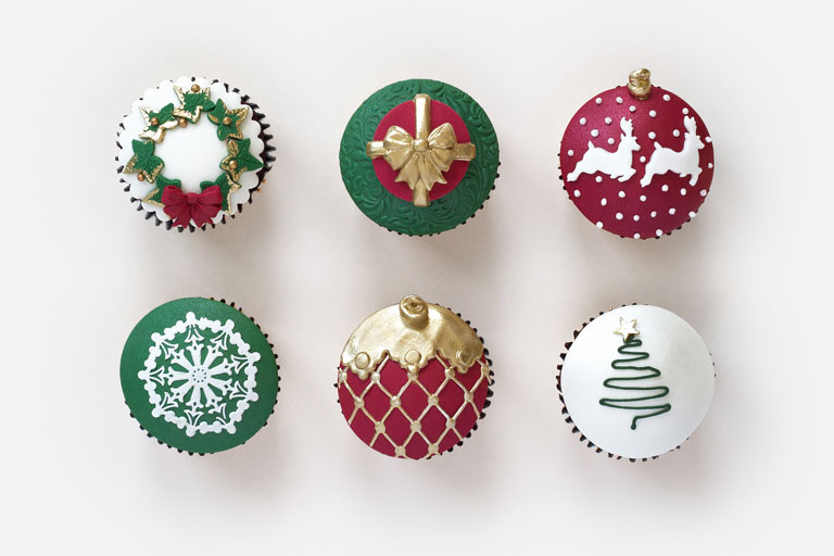 GC Couture Christmas Cupcakes