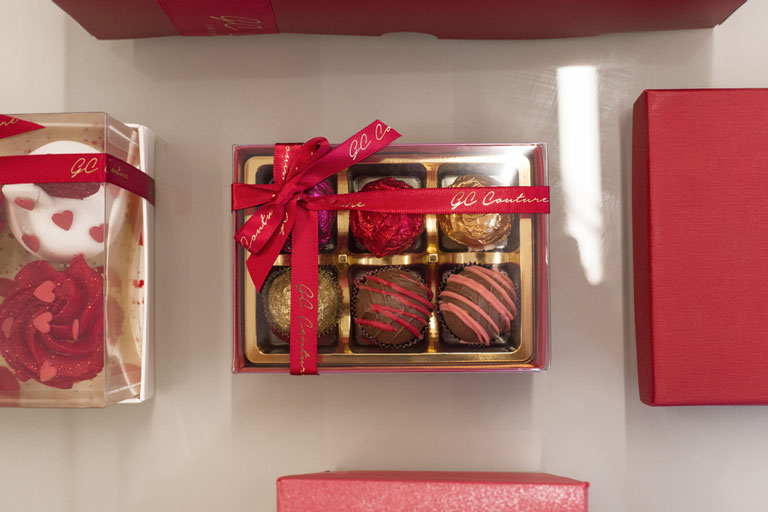 Valentine's truffles by GC Couture